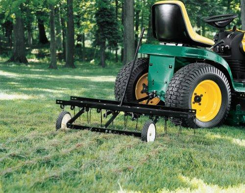 John Deere Lawn Dethatcher Parts : John deere front mount dethatcher attachment car