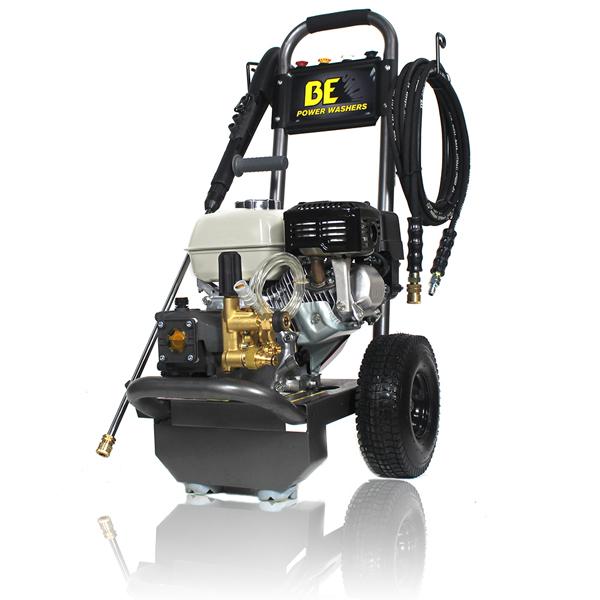 BE B2565HA Honda Gx200 Powered Pressure Washer 2500 PSI