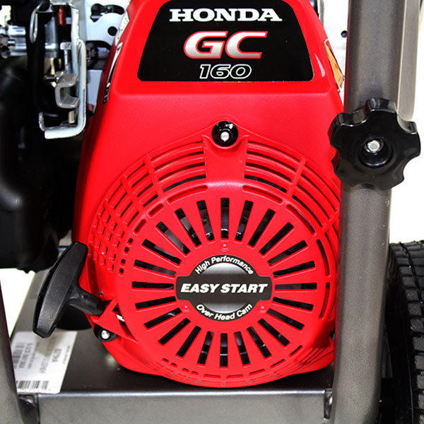 Captivating BE B275HA Honda GC160 Powered Petrol Pressure Washer 2700psi