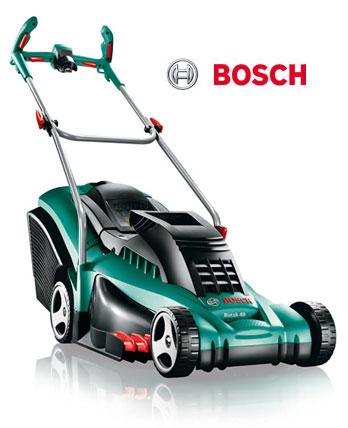 bosch rotak 43 ergoflex lawnmower 43cm. Black Bedroom Furniture Sets. Home Design Ideas