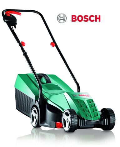 bosch rotak 32r electric rotary lawnmower 32cm. Black Bedroom Furniture Sets. Home Design Ideas