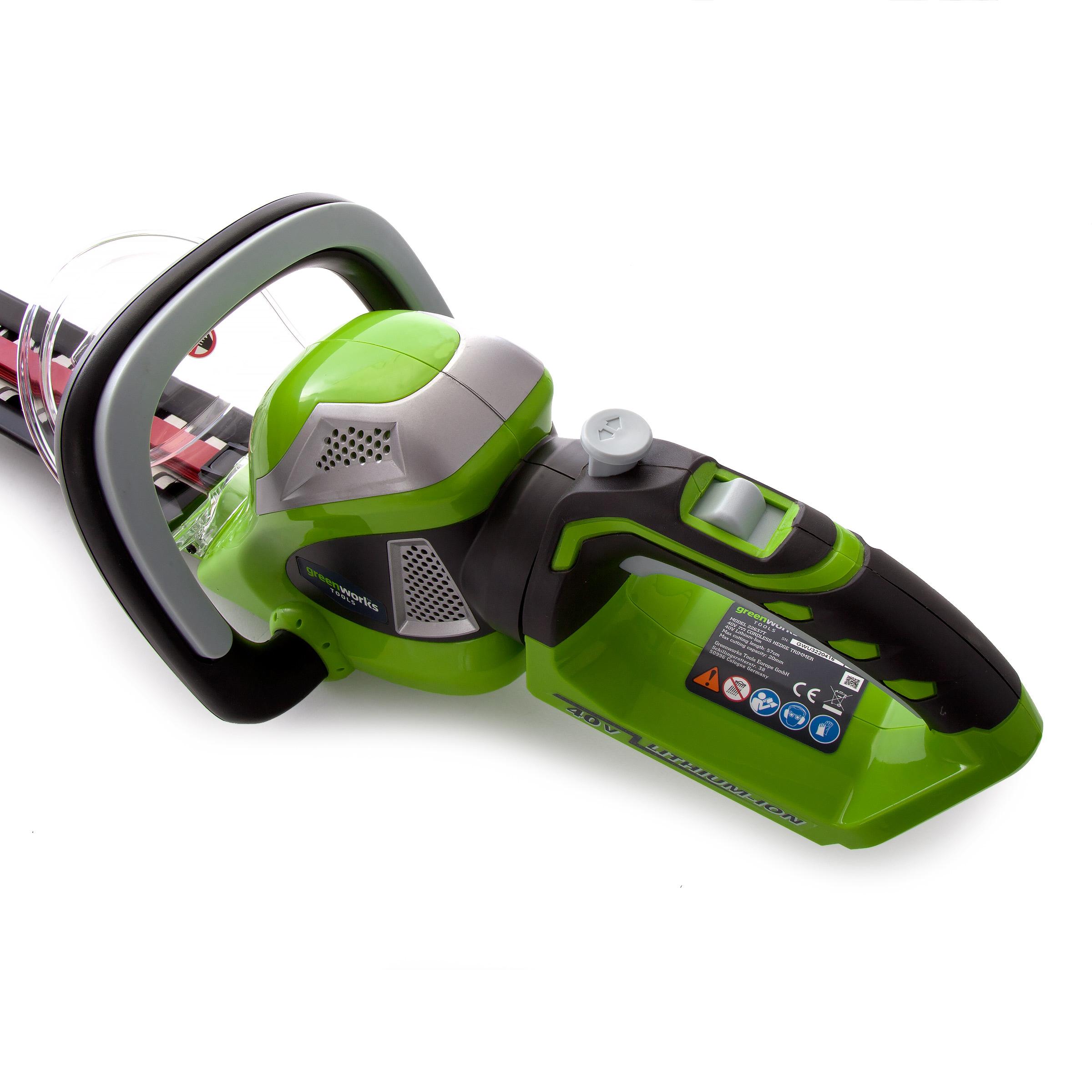 Greenworks G40HT61 40V Cordless Hedge Trimmer (Tool Only)