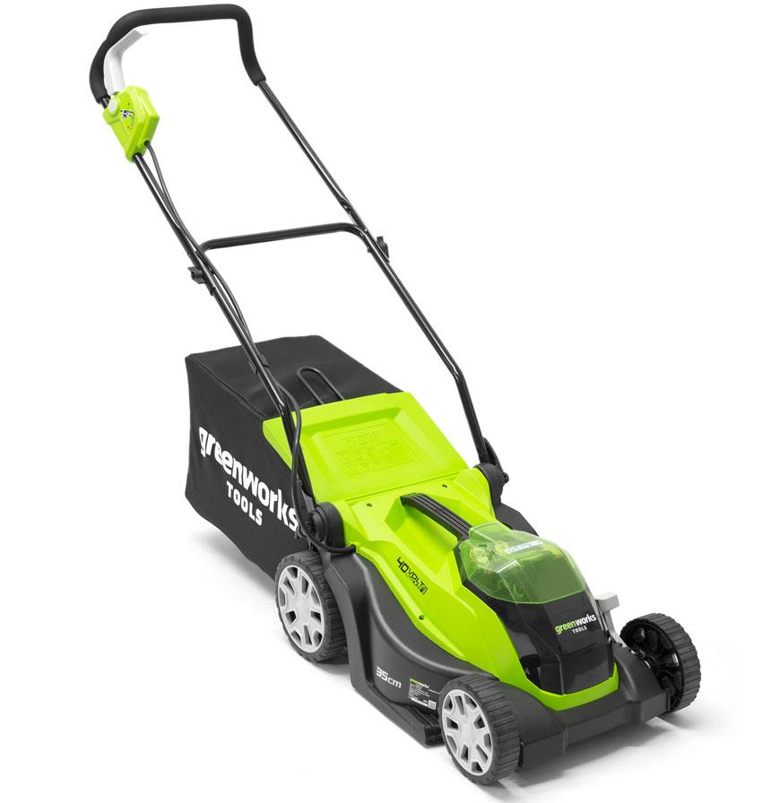 Greenworks G40LM35K2 40v 35cm Lawnmower