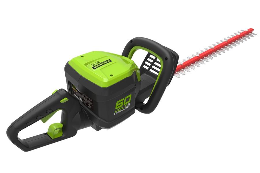 Greenworks Pro GD60HTK2 60V Cordless Hedge Trimmer + 2Ah ...