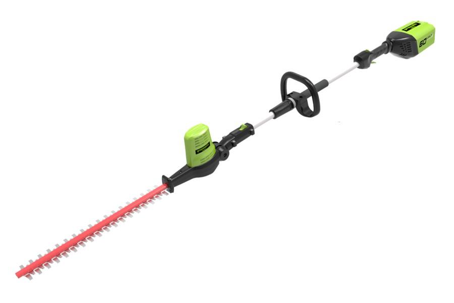 Greenworks Pro Gd60phtk2 60v Cordless Pole Hedge Trimmer
