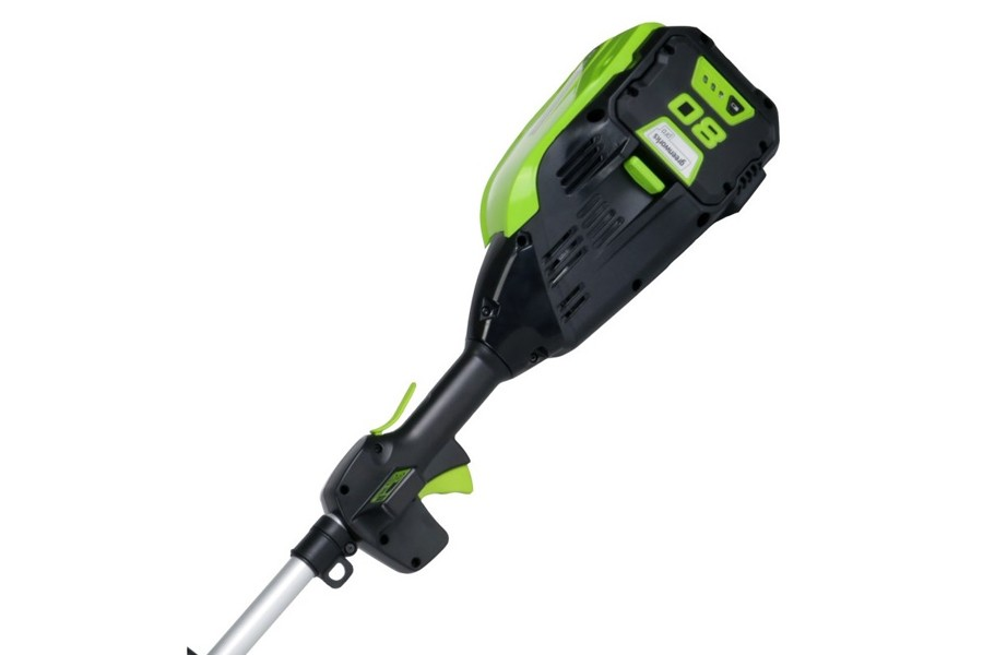 Greenworks Gd80bck2 80v Cordless Brush Cutter With 1 X