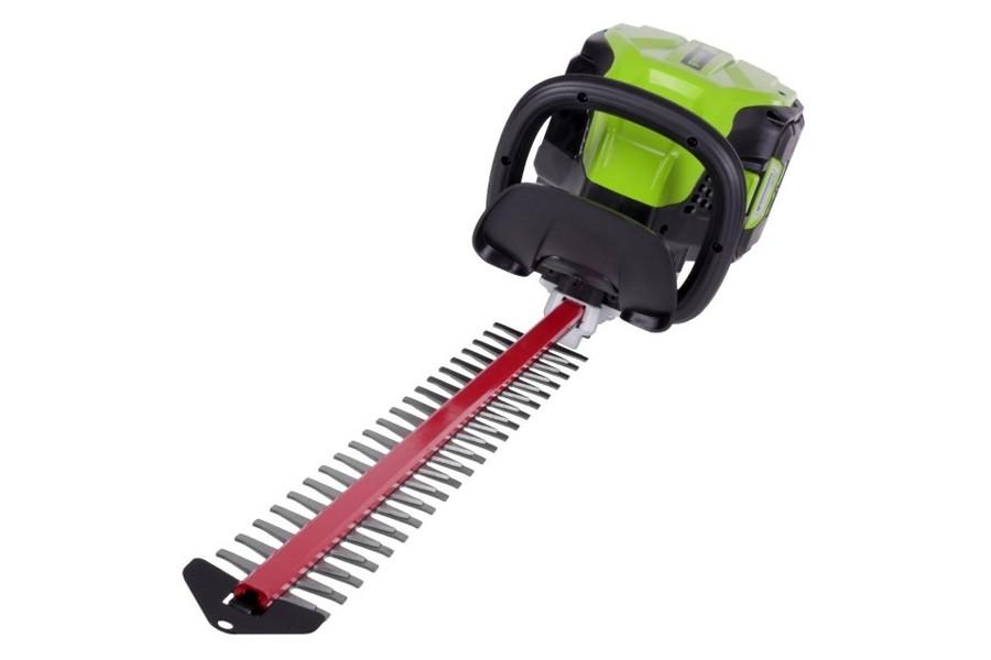 Greenworks GD80HTK2 Pro Cordless Hedge Trimmer + 1 x 2Ah