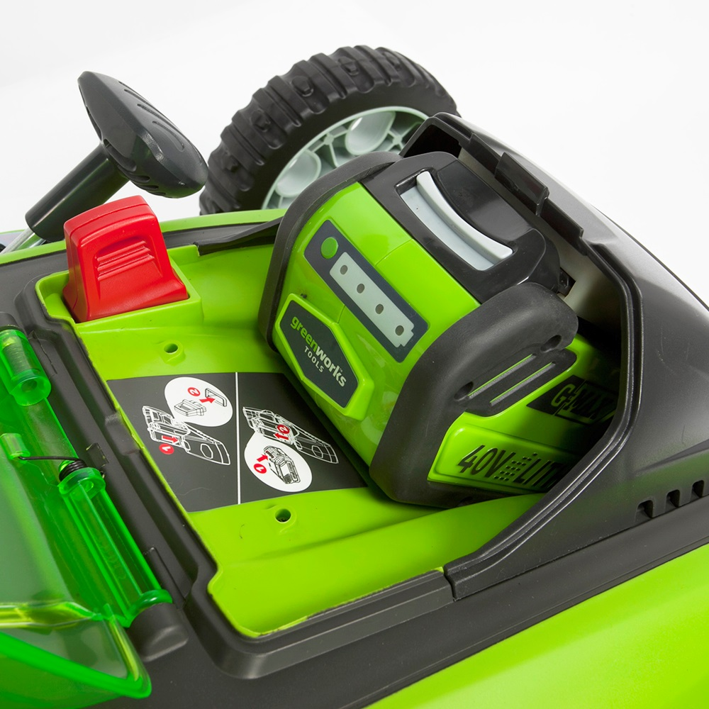 Greenworks G40lm41k2x 40v Cordless Lawn Mower