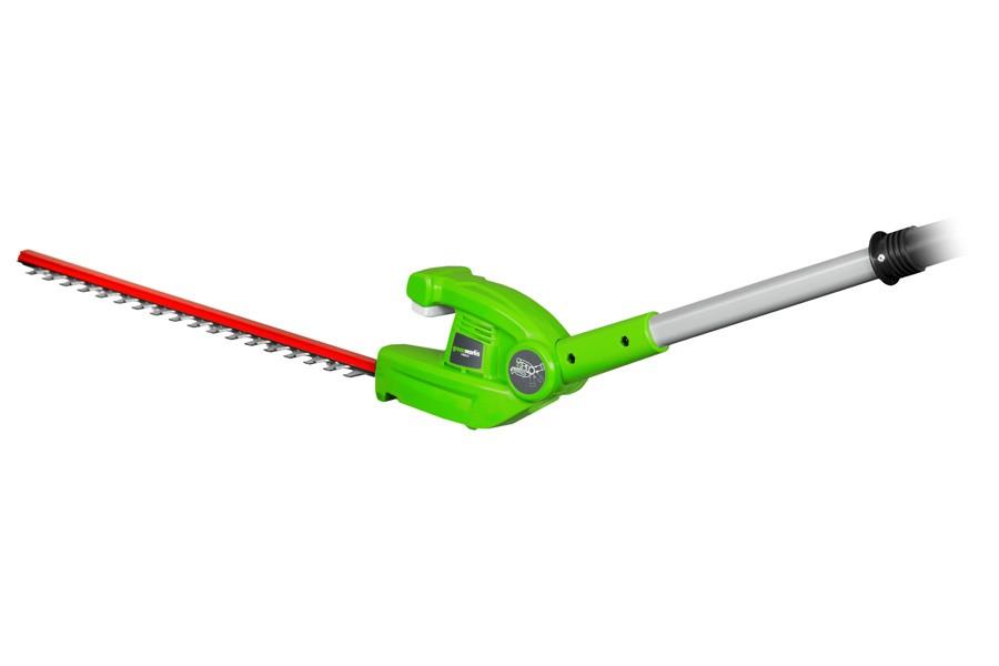 Greenworks G40PSHK2 40v Cordless Long Reach Hedge Trimmer ...