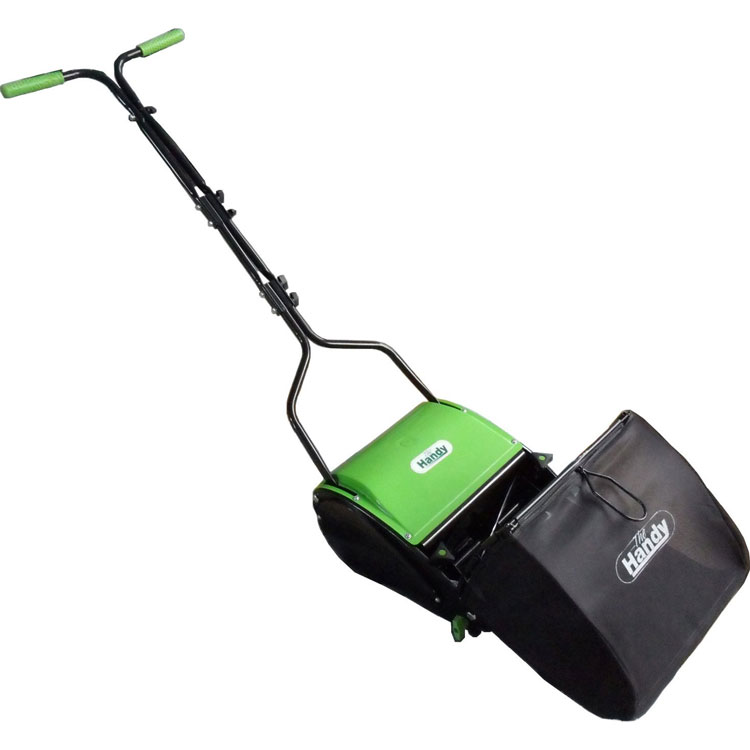 Handy Push Traditional Large Rear Roller Lawnmower Thhmr