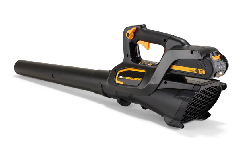 mcculloch li 40gb 40v cordless powerlink garden leaf blower