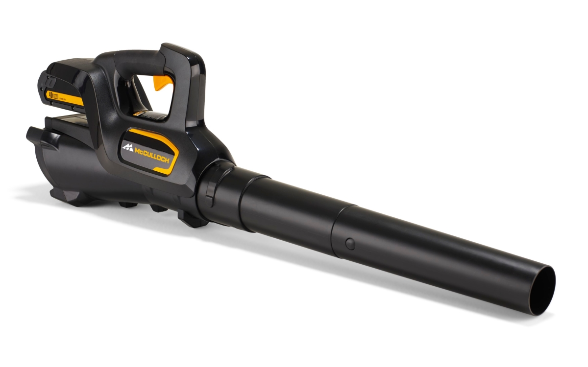 mcculloch li 40gb 40v cordless powerlink garden leaf blower view 2