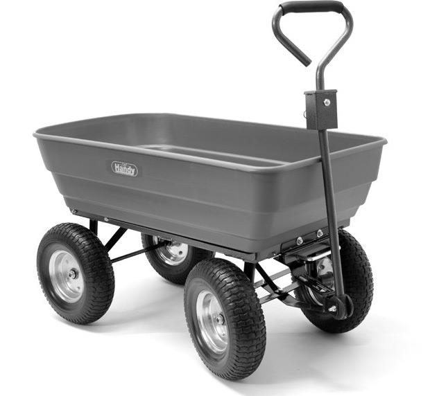 Yardworks poly dump cart dewalt work pants