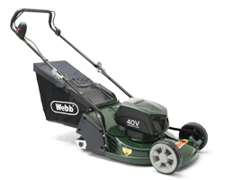 Webb Supreme RR17LIP Cordless Lawnmower  Pushed