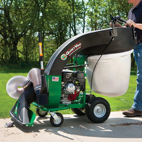 The Billy Goat QV550HSP Quiet Vacuum Vac Self Propelled