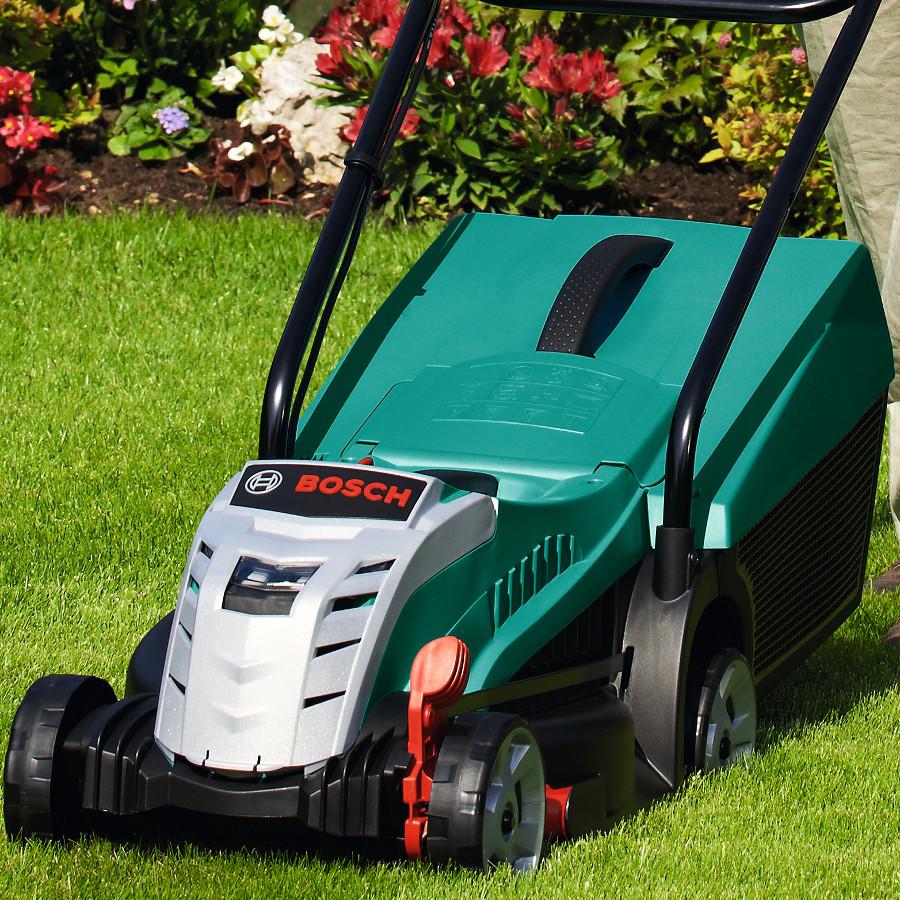 Bosch Rotak 32li Ergoflex Cordless Lawn Mower