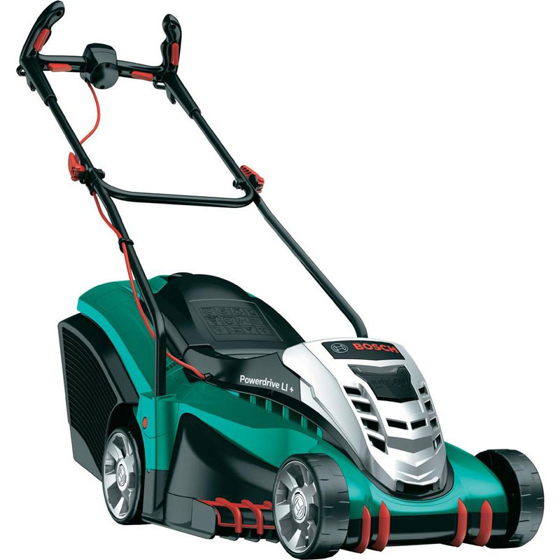 bosch rotak 37 li ergoflex cordless lawnmower 37cm. Black Bedroom Furniture Sets. Home Design Ideas