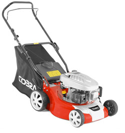 Cobra M40C Petrol Lawnmower 40cm Cut