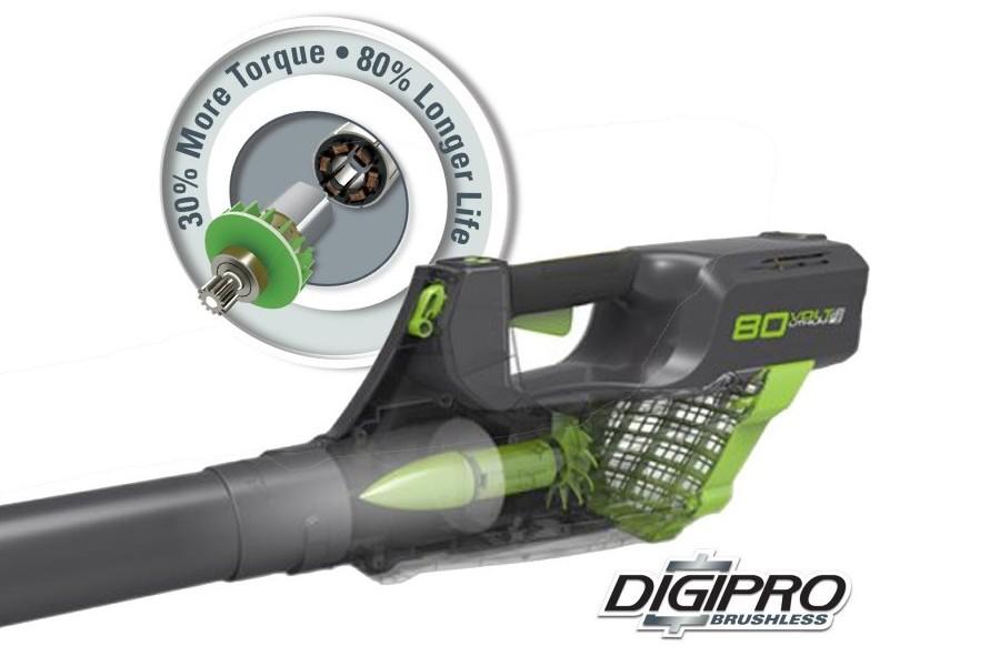Greenworks Pro Gd80blk2 80v Cordless Leaf Blower With 1 X