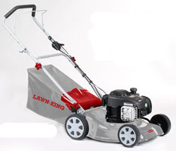 Lawn-King46R Petrol Lawnmower 46cm Cut Briggs Powered