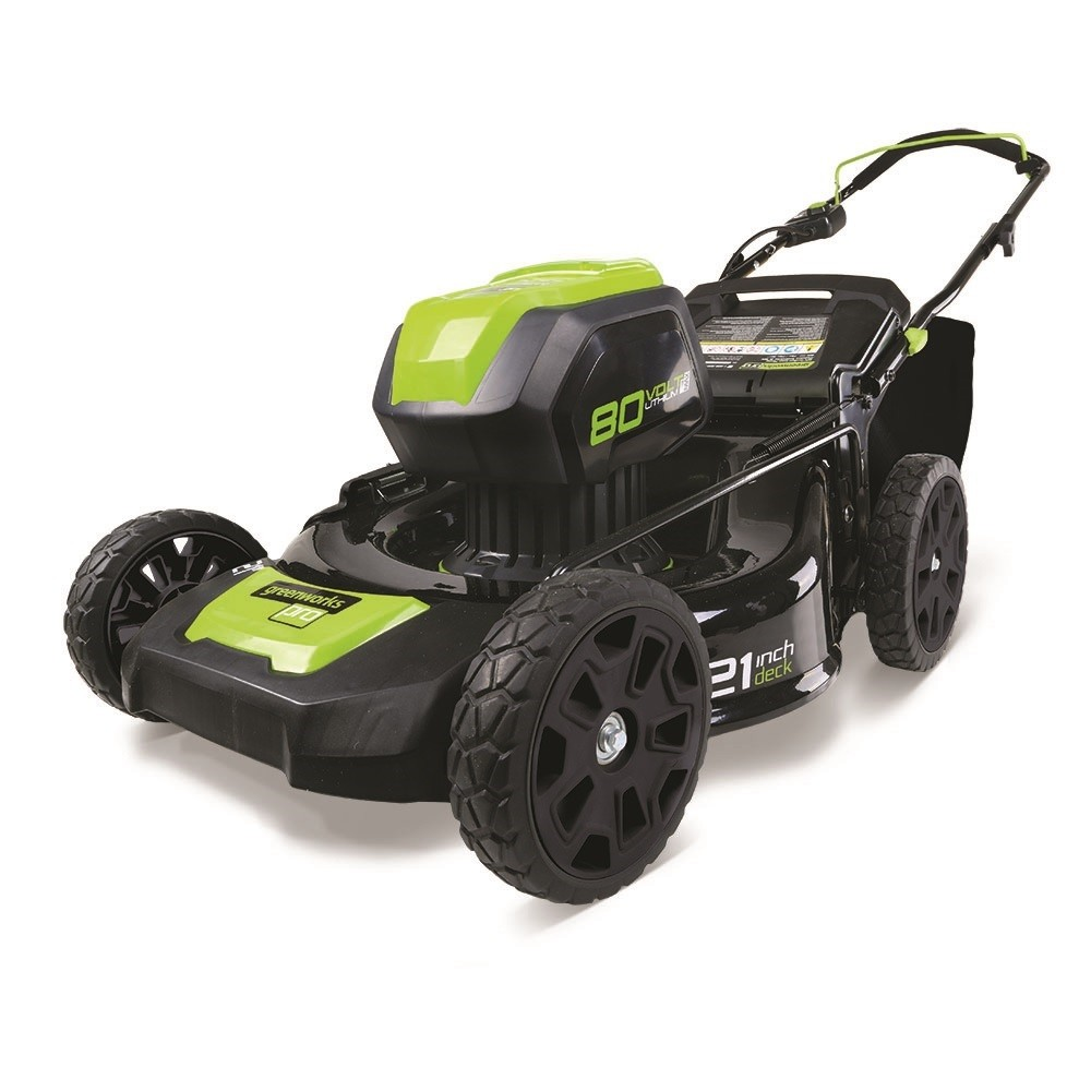 Greenworks Gwgd80lm53k2x Pro Cordless Lawnmower 50cm With