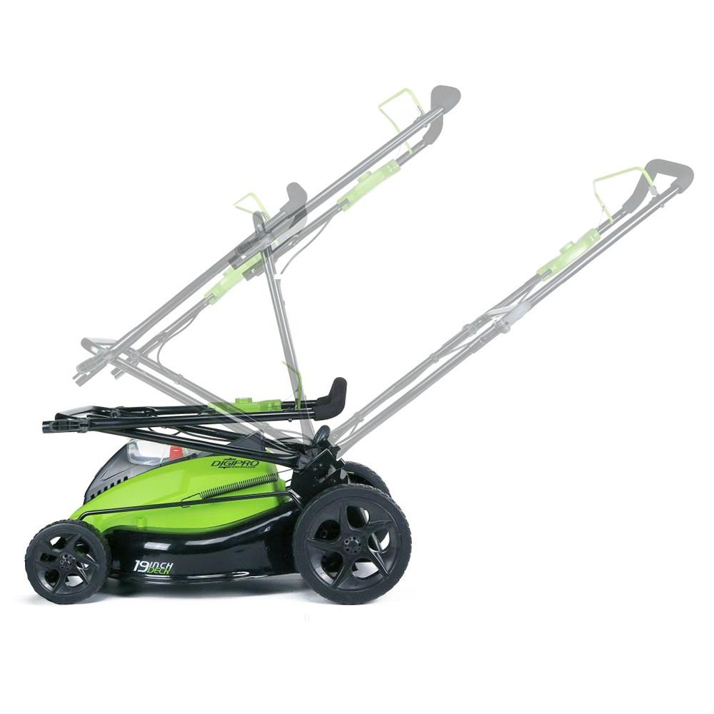 Greenworks Gwg40lm45k2x 40v 45cm Cordless Lawnmower With 2