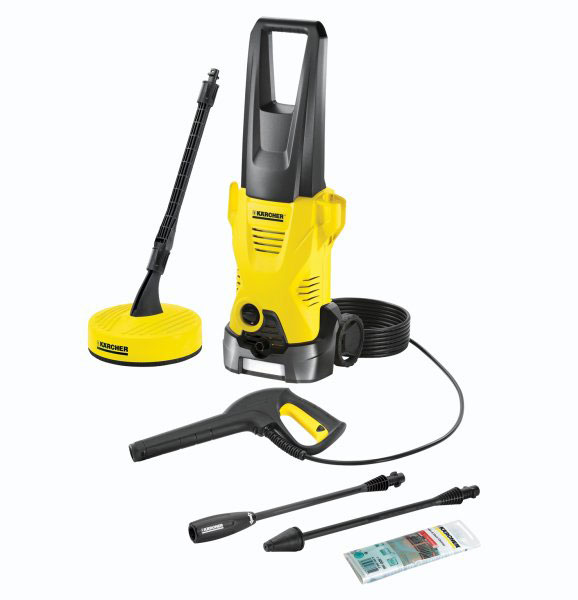 karcher k2 premium home pressure washer 110 bar. Black Bedroom Furniture Sets. Home Design Ideas