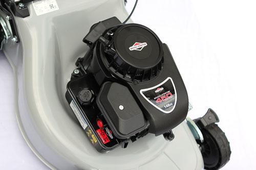 lawn king sg48r petrol lawnmower 48cm cut briggs powered. Black Bedroom Furniture Sets. Home Design Ideas