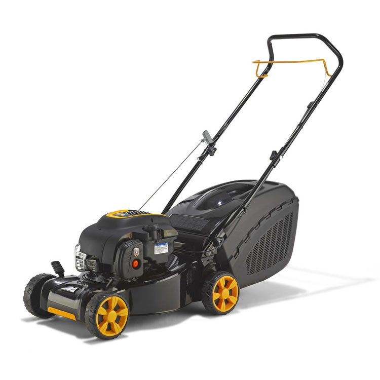 mcculloch m40 125 petrol lawnmower 40cm cut. Black Bedroom Furniture Sets. Home Design Ideas