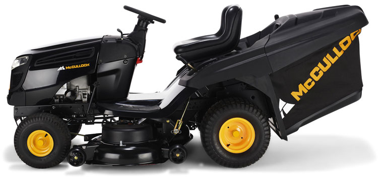 mcculloch m155 107tc ride on lawnmower tractor. Black Bedroom Furniture Sets. Home Design Ideas