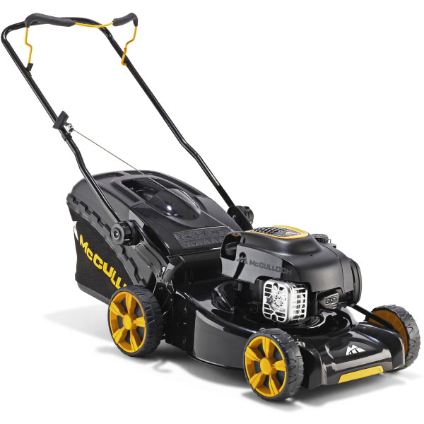 mcculloch m46 125 petrol lawn mower 46cm. Black Bedroom Furniture Sets. Home Design Ideas