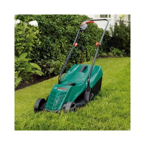 bosch rotak 34r electric rotary lawnmower 34cm. Black Bedroom Furniture Sets. Home Design Ideas