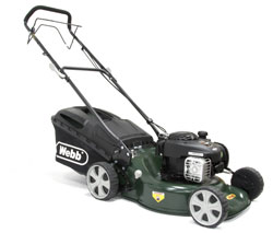 Webb Supreme R18SP Petrol Self Propelled 3 in 1 Rotary Lawn Mower